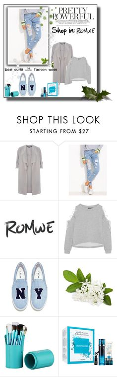 """""""Romwe"""" by maiah-bee ❤ liked on Polyvore featuring Dorothy Perkins, W118 by Walter Baker and Joshua's"""