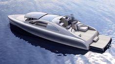 """Mercedes-Benz Style Luxusyacht """"Arrow460–Granturismo"""" – Neuartiges Bootskonzept mit innovativem Interieur und formvollendetem Exterieur"""
