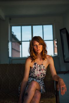 sun soaked portrait by SAINT LUCY Represents photographer Cody Bratt