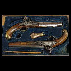 Antique Dueling Pistols