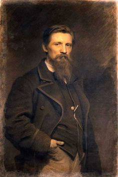Крамской И.Н. Портрет художника К.Ф.Гуна.