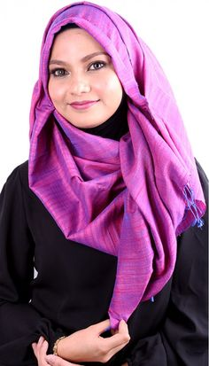 Earth Heir Silk Plain Shawl in Violet Blue,  Product Code: EH30116SLSKVB03 Availability: In Stock Order through Whatsapp/SMS: 019-292-5245 Expected delivery time (2-3 working days)