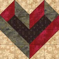 Check out this gorgeous heart block with a free pattern here . This ...