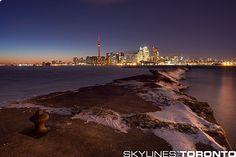Winter Toronto Skylines