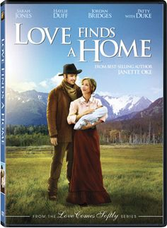 Love Finds A Home #8 in the Janette Oke series produced by Michael Landon Jr.