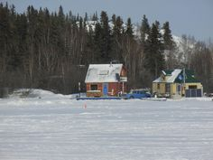 Another house boat on Great Slave Lake.... Yellowknife, NT