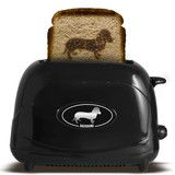 Dachshund Toaster. What a great way to start your morning.