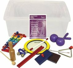 Rhythm Band Adventures with Sound Kit by Rhythm Band. $51.99. Young children are invited to begin their adventures with sound equipped with an assortment of instruments that will delight, intrigue, and capture their imagination. Their adventure backpack is filled with: Sound Shape Drum, Glockenspiel, Tone Block with Mallet, Pair of Sand Blocks, two Individual Maracas, Triangle Set, Pair of Rhythm Sticks, Velcro Wrist Bells, and the Adventures With Sound booklet.