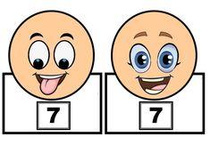 Mandal Takarak Sayıları Öğrenme Kalıpları - Okul Öncesi Etkinlik Faliyetleri - Madamteacher.com Busy Boxes, Math For Kids, Numeracy, Kindergarten Math, Motor Skills, Mandala, Teaching, Activities, School