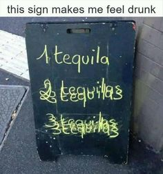 It's almost like it's supposed to make you feel drunk or something...
