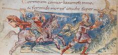 Carolingian, Anglo Saxon, Dark Ages, Barbarian, Illuminated Manuscript, Vikings, Medieval, Vintage World Maps, Miniatures