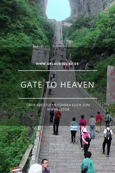 Gate to heaven in Volksrepublik China - dies Treffer zum Himmel In China, China Travel, Bali Travel, Heavens Gate China, Heaven's Gate, Shanghai, Beijing, Stairway To Heaven, Chengdu
