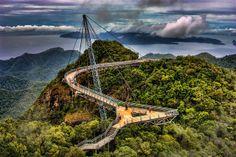 Bridge at summit, Langkawi... One heroic adventure www.heroicadventures.net