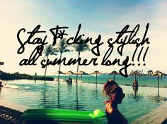 Stay F*cking Stylish all summer long! Pool Images, Favim, New York Skyline, Places, Beach Pool, Summer Beach, Pictures, Photography, Travel