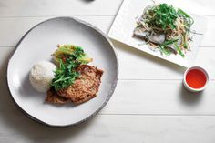 Thit Heo Nuong Xa (Grilled lemongrass pork) by Chef Chi