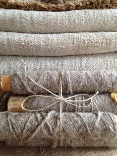 + #hemp #flax #fabric #yarn