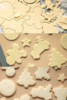 The best gluten-free sugar cookie recipe! Perfect for Christmas cut-outs, hold their shape, crisp & not dry. The best gluten-free sugar cookies! The cookies are tender yet crisp & definitely not dry. They hold their shape perfectly for Christmas cut-outs. Gluten Free Christmas Cookies, Gluten Free Sugar Cookies, Gluten Free Cookie Recipes, Gluten Free Treats, Gluten Free Cakes, Gluten Free Baking, Gluten Free Desserts, Free Recipes, Gf Recipes