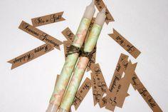 Wedding Candles  Vintage Sage Floral Textile  by sugarplummoose, $6.00