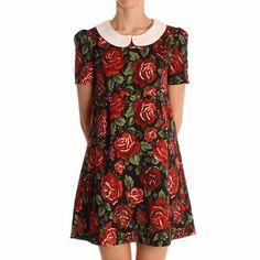 Hearts & Bows Floral Romario Smock Dress