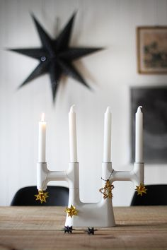 #advent #star #candles