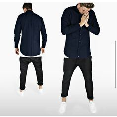 #mens #fahion #street #urban #streetwear #menswear #mensfashion #black #navy #white #zanerobe