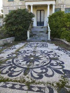 Jeffrey Bale's World of Gardens: Pebble mosaics of the Palazzo Reale, Genoa, Italy by lorene