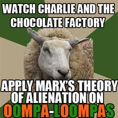 Oompa Loompas represent minorities such as different races and are given the labor jobs instead of capitalist positions