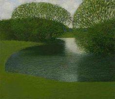 Backwater, 2001, Alexander Grishkevich. Russian born 1961.