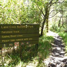 Fairyland Lane Cove National Park