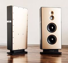 Einer der besten High-End-Lautsprecher der Welt   Resonanzfreies Guss-Gehäuse aus Polymer-Beton   Handgemachte Luxus-, Klang- und Designqualität aus Aachen