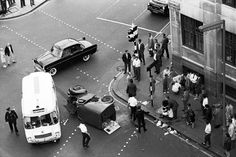 Accident in Clerkenwell, London