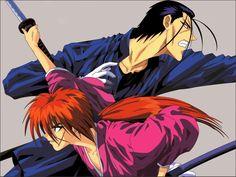 Kenshin Himura Hajime Saito