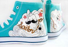 Zapatillas 'Sailor' - EsenciaCustome - Zapatillas
