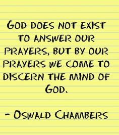 Oswald Chambers quote.