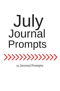 July Journal Prompts + Printable