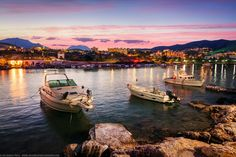 Boats in the Harbour at Agios Nikolaos, Crete, Greece Crete Island, Crete Greece, Luxury Villa, Holiday Destinations, 5 Star Hotels, Boats, Nautical, Places To Visit, World
