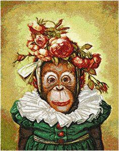 Monkey photo stitch free embroidery design - Photo stitch embroidery - Machine embroidery forum