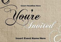 The Easy Way to Print Custom Invitations