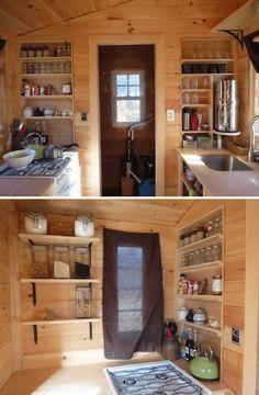 ROWAN'S TINY HOUSE KITCHEN CABINETS