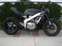 I am going to make my bike look like this babe. Honda Hawk GT