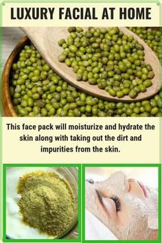Beauty skin care routine - Green gram face mask to get Fair & Glowing face Beauty Care, Beauty Skin, Health And Beauty, Diy Beauty, Face Beauty, Healthy Beauty, Beauty Ideas, Beauty Hacks For Teens, Natural Hair Mask