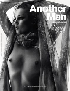 Kate Moss on the cover without a cover