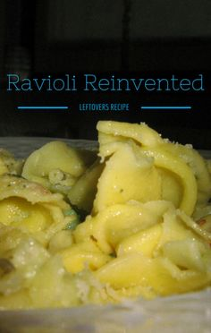 Mario Batali demonstrated that you can turn leftovers into a great new meal with his recipe for Leftover Meat & Potato Ravioli. You will want to try this! http://www.foodus.com/the-chew-mario-batali-leftover-meat-potato-ravioli-recipe/