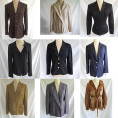 Large selection of couture designers and vintage jackets #jacket for sale http://www.ebay.com/sch/m.html?_odkw=coat&_ssn=haillais&_sop=10&_armrs=1&_osacat=11450&_ipg=25&_from=R40&_trksid=p2046732.m570.l1313.TR12.TRC2.A0.H0.Xjacket.TRS0&_nkw=jacket&_sacat=11450