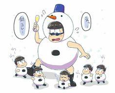 Karamatsu Like a Snowman