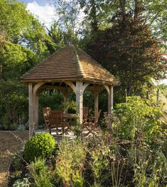 Materials and Specifications - Border Oak - oak framed houses, oak framed garages and structures. Septic Tank Covers, Garden Structures, Outdoor Structures, Landscape Design, Garden Design, Border Oak, Oak Frame House, Small Front Gardens, Outdoor Shelters
