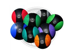 Magnum Fitness Medicine Balls  Price is for a Single Medicine Ball.   Diameter:  - 1-2kg = 190mm - 3-5kg = 230mm - 6-10kg = 286mm  Commercial Grade Medicine Ball ready to take a pounding. Will bounce when slammed.  Two tone colours for stylish design.   For more info visit: http://www.gymandfitness.com.au/magnum-fitness-medicine-balls.html