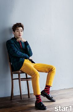 Super Junior Henry - @Star1 Magazine March Issue '15