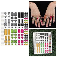 Tattify Assorted Jewel Temporary Finger Tattoos - You're a gem (Complete Set of 14) - Other Styles Available and Fashionable Temporary Tattoos ** You can get more details by clicking on the image. (As an Amazon Associate I earn from qualifying purchases) Tattoo Set, Body Makeup, Baby Oil, Rubbing Alcohol, Finger Tattoos, Temporary Tattoo, Beauty Care, Body Art, Custom Design