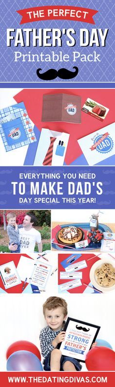 This is a fun Father's Day Printable Pack (affiliate)